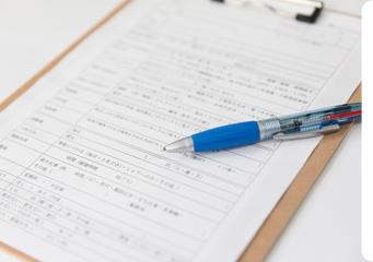 STEP.2 ご来院と問診表の記入